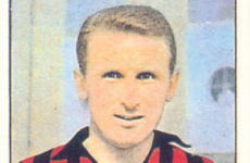 Who wants to see an old Panini sticker of Giovanni Trapattoni from 1965?