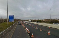 Three collisions reported on the M50 this morning