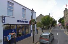 Two armed men rob Ulster Bank in Dalkey, Co Dublin