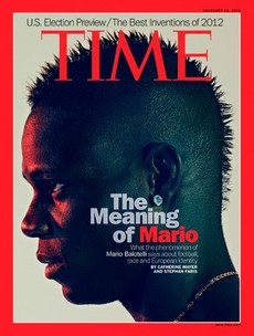 Move over, Enda -- Mario Balotelli takes the cover of Time International