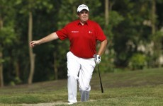 Shane Lowry still in the hunt but hot Oosthuizen takes commanding lead