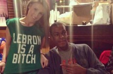 It's T-shirt time: Celtics star impressed by 'Lebron is a bitch' shirt