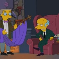 VIDEO: Mr Burns endorses Romney