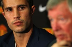 United v Arsenal: Ferguson calls for Van Persie 'respect'
