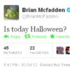 Tweet Sweeper: Brian McFadden is a little bit confused