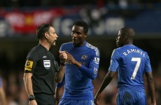 Referees mulling over a Chelsea boycott - Report
