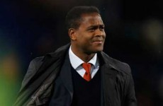Kluivert: I was racially abused in Premier League