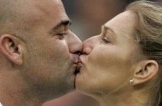 Andre Agassi auctioned off a naked viewing of wife Steffi Graf