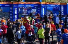 New York marathon runners vent frustration