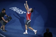 David Ferrer ends Spanish drought in Paris Masters