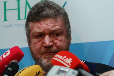 Health Minister James Reilly will bring his recommendation to Cabinet tomorrow.