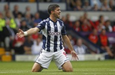 Shane Long named in West Brom team, despite exclusion from Ireland squad