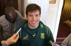 Happy to be here: 'Loose cannon' Brits welcomes return of Springbok values