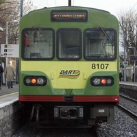 Woman injured after being struck by DART train