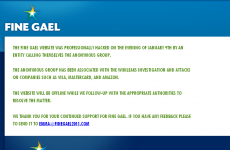 2,000 users' details taken in Fine Gael website breach