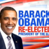 Videos: The moment US TV networks called the election for Obama