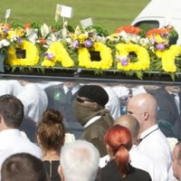 Man arrested over shots fired at Alan Ryan's funeral