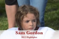 This little girl is absolutely dominating an all-boys American football league