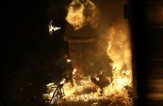 Greek protests erupt into violence ahead of austerity vote