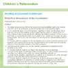 Children's Referendum website corrected after omitting part of amendment