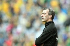 Donegal's McGuinness set to take up part-time Celtic role - reports