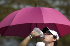 Storm halts Singapore Open as Rory McIlroy's round cut short