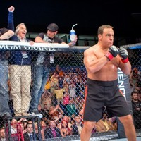 An Adam Sandler-produced movie about cage fighting? I'm there!