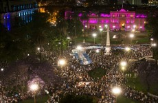 More than 30,000 protest against Argentina's government