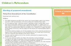 Children's Referendum website now completely offline
