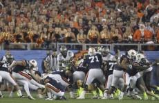 Auburn wins the BCS Championship Game