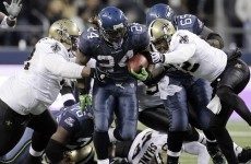Seahawks' touchdown left fans quaking: Lynch causes earthquake