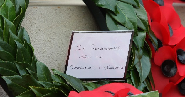 PHOTOS: Enda Kenny lays wreath at Remembrance Day ceremony in Enniskillen
