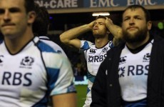 Scots pay price for defensive lapses as Carter stars