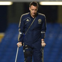 Chelsea sweat over Terry injury