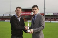 Baraclough scoops Manager of the Month prize