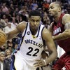 Rudy Gay threw down this massive slam dunk over Chris Bosh last night, after making a fool of Lebron