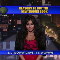 Snooki wowws Letterman with 10 reasons to buy her book