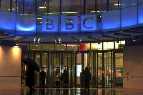 New Broadcasting house in central London