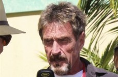 Anti-virus guru McAfee sought by police in murder investigation