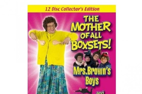 Brendan O'Carroll believes this 12-disc box set could confuse buyers into thinking it contains his popular BBC TV series.