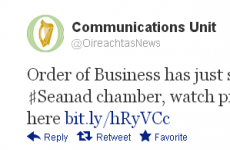Um, does the Oireachtas really understand hashtags?