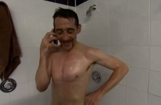 VIDEO: Naked Davy Russell swears on air because of prank king Ruby Walsh