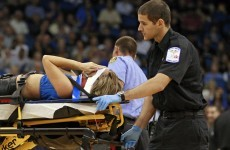 Injured Magic cheerleader in stable condition