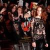 So Kristen Stewart's lace onesie was as uncomfortable as it looked...