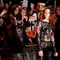 So Kristen Stewart's lace onesie was as uncomfortable as it looked...