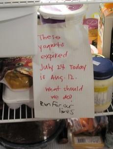 How terrifying is your office fridge?