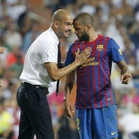 Alves blames squad for Guardiola exit