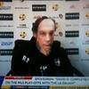 Why was Roberto Mancini wearing a David Platt mask at training this morning?