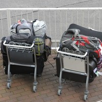 What happens to stuff that gets left behind in Dublin Airport?