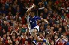 Smashing: Pisi leads the charge as Samoa upset Wales